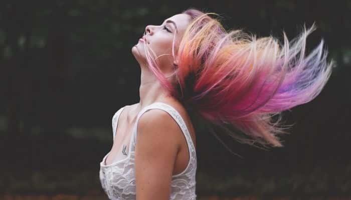 Tinte en aerosol para el cabello