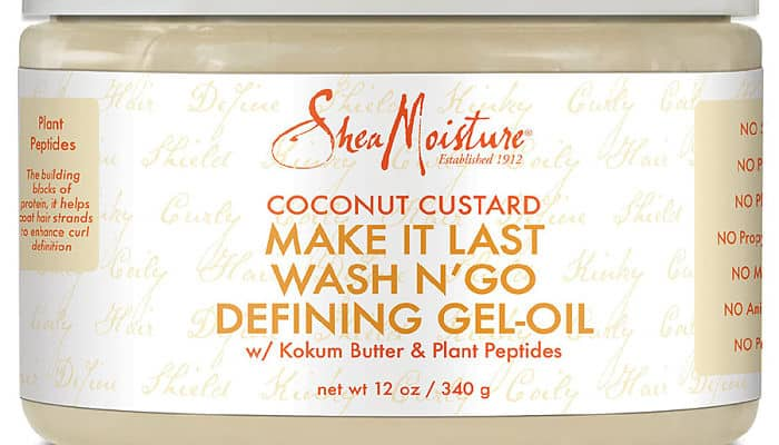 SheaMoisture Coconut Custard Make It Last Wash N' Go Shampoo
