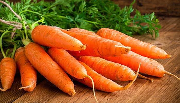 Beneficios de las zanahorias para el cabello